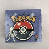 Pokemon Base Set 2 Booster Box WOTC EX-MT small hole in shrink