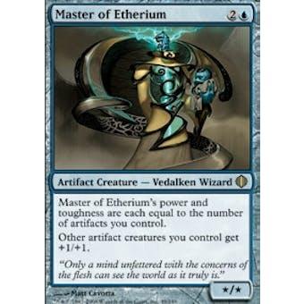 Magic the Gathering Shards of Alara Single Master of Etherium Foil