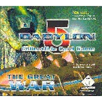 Precedence Babylon 5 The Great War Booster Box
