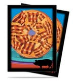 Ultra Pro Foodie Bacon Donut Standard Sized Deck Protectors (50 ct)