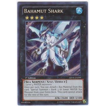 Yu-Gi-Oh Abyss Rising Single Bahamut Shark Secret Rare