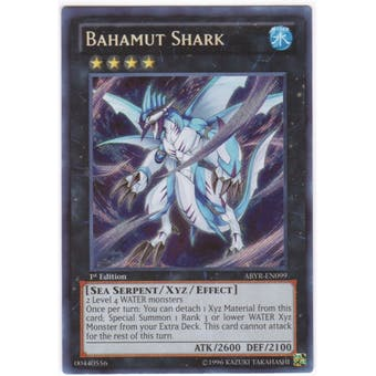 Yu-Gi-Oh Abyss Rising Single Bahamut Shark Secret Rare