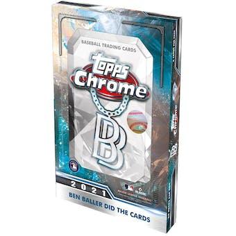 2021 Topps Chrome Baseball Ben Baller Edition Hobby Box