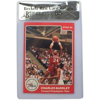1984 Star Basketball #202 Charles Barkley XRC BGS RCR 8.5 *1167 (Reed Buy)