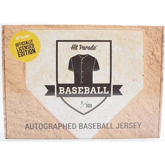 2019 Hit Parade Autographed OFFICIALLY LICENSED Baseball Jersey Hobby Box - Series 2 - Acuna, Trout, Judge!!
