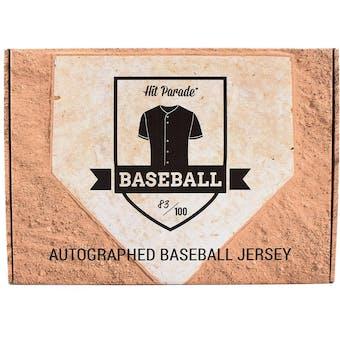 2018 Hit Parade Autographed Baseball Jersey Hobby Box - Series 10 - Reggie Jackson & Jacob DeGrom!!!