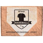 2021 Hit Parade Autographed Baseball Jersey - Series 4 - Hobby 10-Box Case - Griffey Jr., Ohtani & Vlad Jr.!!