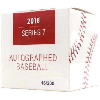 2018 Hit Parade Autographed Baseball Hobby Box - Series 7 - BRYCE HARPER & Ronald Acuna!!!!!