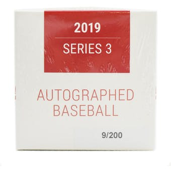 2019 Hit Parade Autographed Baseball Hobby Box - Series 3 - Aaron Judge, Ronald Acuna, & Ken Griffey Jr!!!!