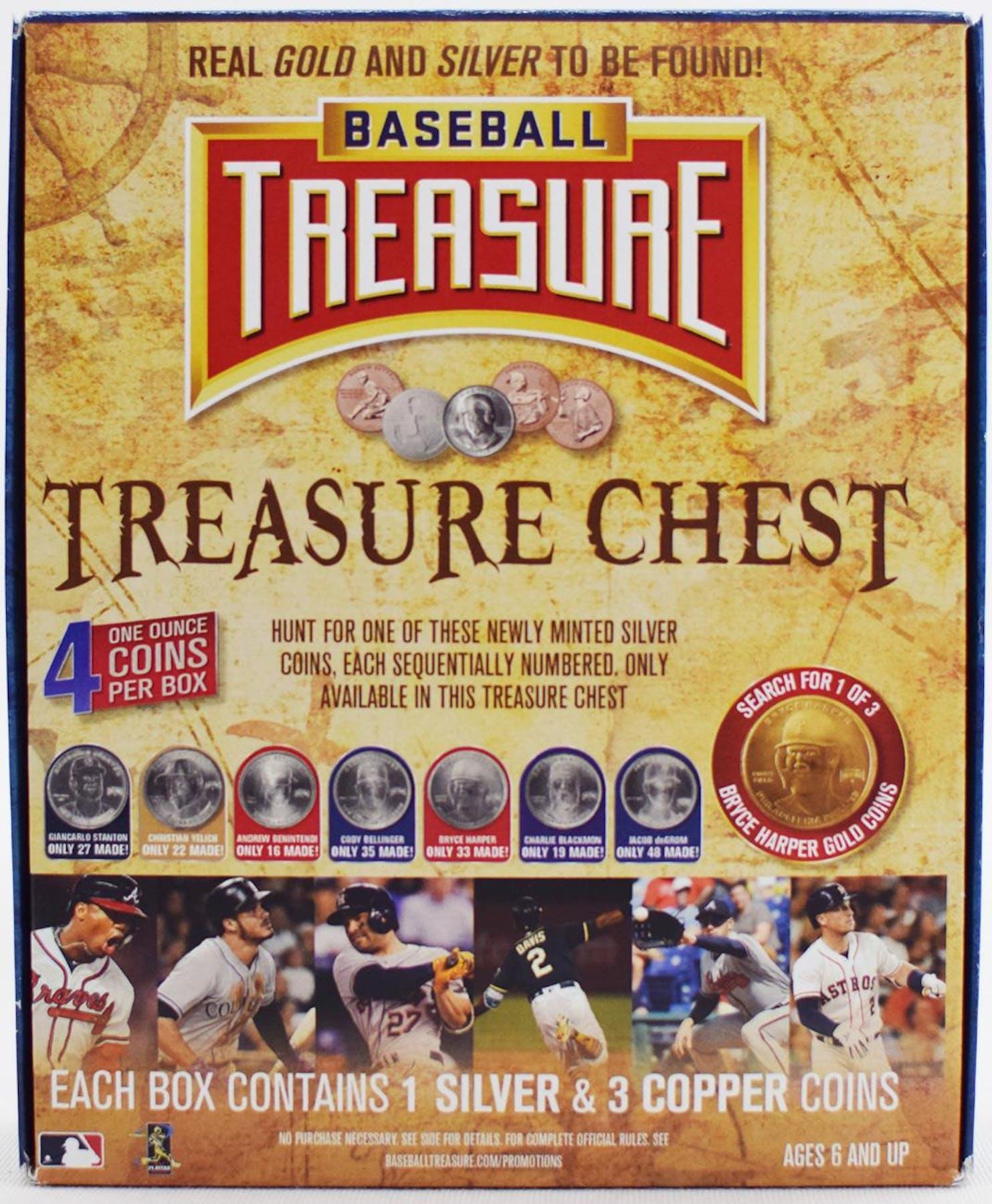 2019 Baseball Treasure Chest Hobby Box Da Card World