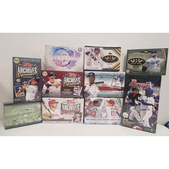 2019 Baseball Mixer Break 10-Box- DACW Live 30 Spot Random Team Break #4