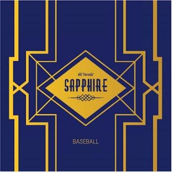 2021 Hit Parade Baseball Sapphire Ed Ser 15- 1-Box- DACW Live 6 Spot Random Division Break #1