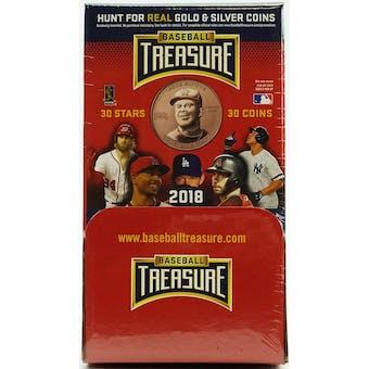 2018 Baseball Treasure Collectible Trading Coins Hobby Box