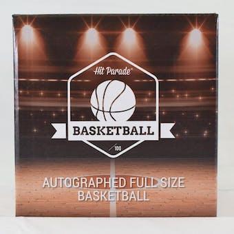 2019/20 Hit Parade Autographed Full Size Basketball Hobby Box - Series 10 - LEBRON JAMES UDA!!!
