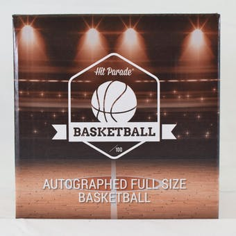 2020/21 Hit Parade Auto Full Size Basketball 1-Box Series 8- DACW Live 6 Spot Random Division Break #2