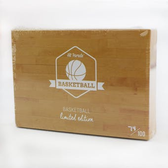 2018/19 Hit Parade Basketball Limited Edition - Series 17- Hobby Box /100 Jordan-Giannis-Luka