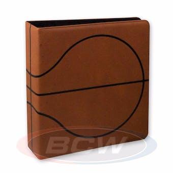 "BCW 3"" Brown Premium Basketball Card Collectors Album"