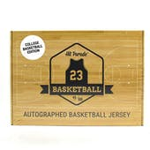 2019/20 Hit Parade Autographed College Basketball Jersey Hobby Box - Series 4 - 2019 Duke Team Signed (Zion)!!