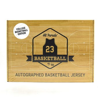 2019/20 Hit Parade Autographed College Basketball Jersey Hobby Box - Series 2 - Tim Duncan & Allen Iverson!!