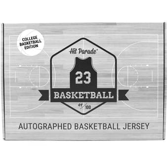 2019/20 Hit Parade Autographed College Basketball Jersey Hobby Box - Series 3 - 2019 Duke Team Signed (Zion)!!