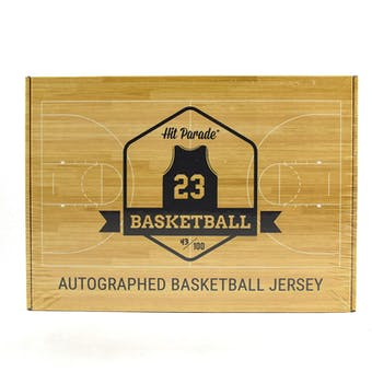2018/19 Hit Parade Autographed Basketball Jersey Hobby Box - Series 3 - Kobe Bryant, Larry Bird, & Luca Doncic