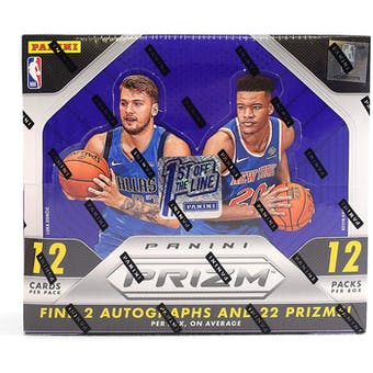 2018/19 Panini Prizm 1st Off The Line Basketball Hobby Box