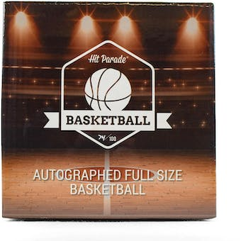 2018/19 Hit Parade Autographed Full Size Basketball Hobby Box - Series 4 - MICHAEL JORDAN!!!