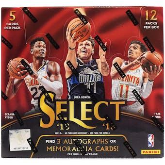 2018/19 Panini Select Basketball 6-Box- DACW Live 30 Spot Random Team Break #1