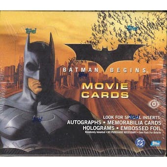 Batman Begins Hobby Box (Topps 2005)