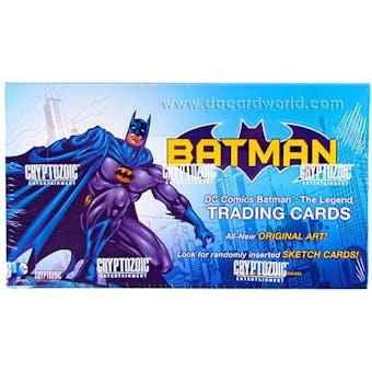 DC Comics Batman: The Legend Trading Cards Box (Cryptozoic 2013)