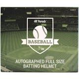 2019 Hit Parade Autographed Baseball Batting Helmet Hobby Box - Series 4 - Peter Alonso & Kris Bryant!!