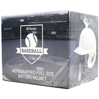 2019 Hit Parade Auto Baseball Batting Helmet 1-Box Ser 2- DACW Live 6 Spot Random Division Break #1