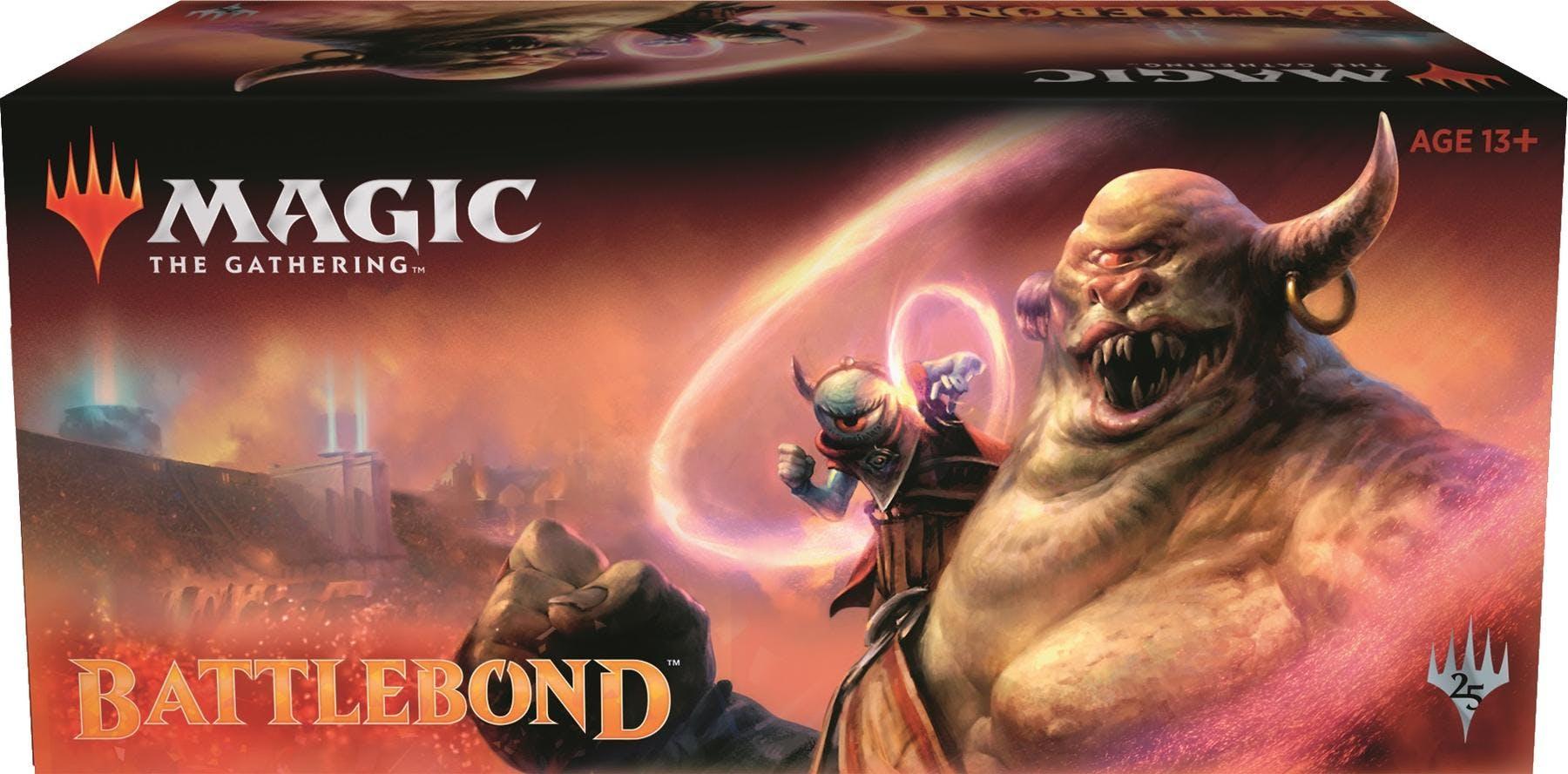 magic the gathering battlebond booster box da card world