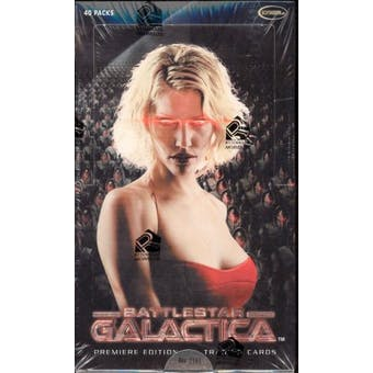 Battlestar Galactica Premiere Edition Trading Cards Box (Rittenhouse 2005)