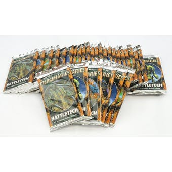 BATTLETECH: MERCENARIES PACK LOT - 31 PACKS!! (Reed Buy)