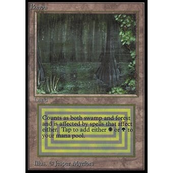 Magic the Gathering Beta International Collector's Edition Single Bayou - Slightly Played