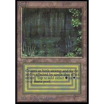Magic the Gathering Beta International Collector's Edition Single Bayou - Slightly Played