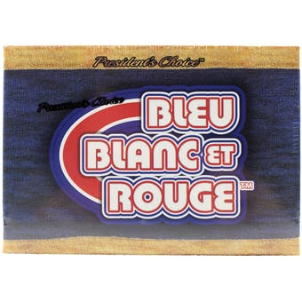2018 President's Choice Bleu, Blanc, et Rouge Hockey Hobby Box