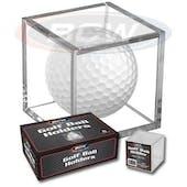 BCW Golf Ball Square Holder (6 Ct. Box)