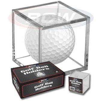 BCW Golf Ball Square Holder (6 Ct. Box)