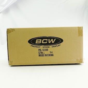 CLOSEOUT - BCW DECK VAULT LX 80 BLACK 12-BOX CASE