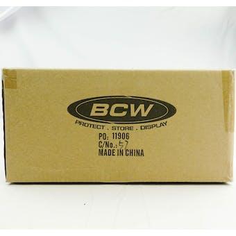 CLOSEOUT - BCW DECK VAULT LX 80 ORANGE 12-BOX CASE
