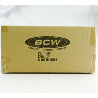 CLOSEOUT - BCW DECK VAULT LX 80 PINK 12-BOX CASE