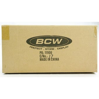 CLOSEOUT - BCW DECK VAULT LX 80 PURPLE 12-BOX CASE