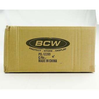 CLOSEOUT - BCW DECK VAULT LX 80 RED 12-BOX CASE