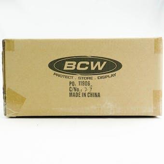 CLOSEOUT - BCW DECK VAULT LX 80 TEAL 12-BOX CASE