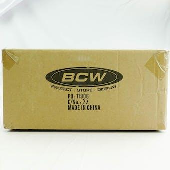 CLOSEOUT - BCW DECK VAULT LX 80 WHITE 12-BOX CASE