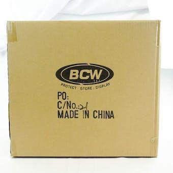 CLOSEOUT - BCW BLACK DECK BOX 90-BOX CASE