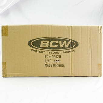 CLOSEOUT - BCW CLEAR DECK KEEPER 24-BOX CASE
