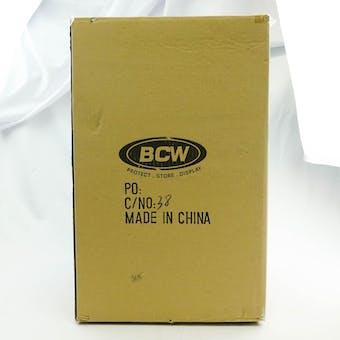 CLOSEOUT - BCW BLACK SIDE LOAD DECK BOX 90-BOX CASE